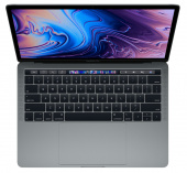 "Ноутбук Apple MacBook Pro 13 with Retina display and Touch Bar Mid 2018 MR9Q2 Space Gray (Intel Core i5 2300 MHz/13.3""/2560x1600/8GB/256GB SSD/DVD нет/Intel Iris Plus Graphics 655/Wi-Fi/Bluetooth/macOS)"