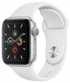 Часы Apple Watch Series 5 GPS 40mm Aluminum Case with Sport Band