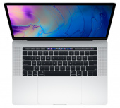 "Ноутбук Apple MacBook Pro 15 with Retina display Mid 2018 MR962 Silver (Intel Core i7 2200 MHz/15.4""/2880x1800/16GB/256GB SSD/DVD нет/AMD Radeon Pro 555X/Wi-Fi/Bluetooth/macOS)"