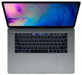 "Ноутбук Apple MacBook Pro 15 with Retina display Mid 2018 MR932 Space Grey (Intel Core i7 2200 MHz/15.4""/2880x1800/16GB/256GB SSD/DVD нет/AMD Radeon Pro 555X/Wi-Fi/Bluetooth/macOS)"